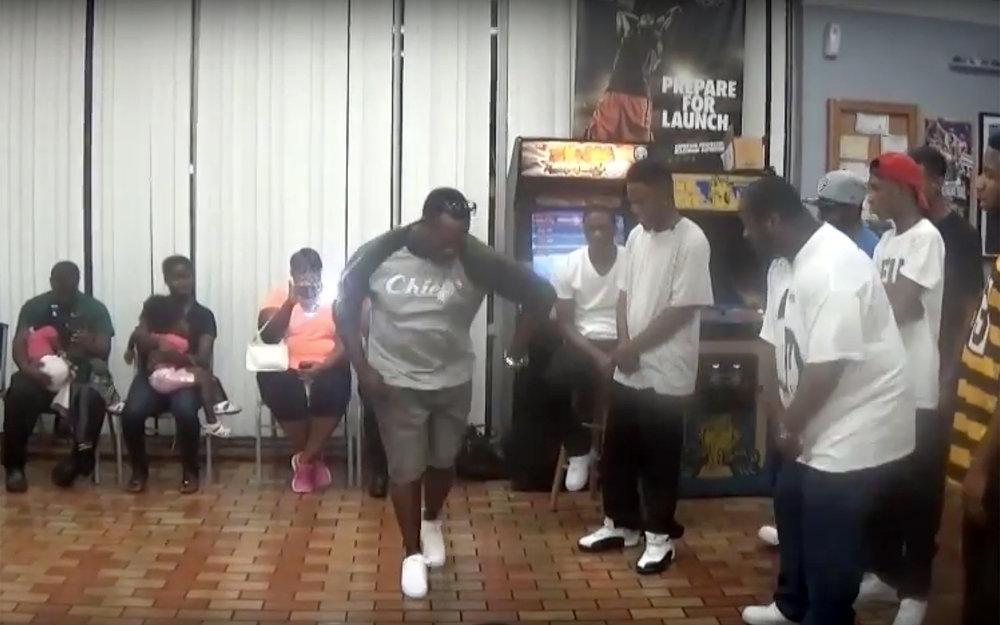 """314.GANGSTA WALK / USA - GANGSTA WALK, often referred to as: G-Walk , Buckin, Tickin, Jookin, or Choppin. is a street dance that originated in Memphis, Tennessee alongside """"Buck"""" music during the 1990s. It is commonly performed to crunk music du, etc.e to the particular bounce in the beat and the movement the dancers make to keep with it. Though it has been around for many years, much of the dance is still exclusive to the city and surrounding areas. Along with being a popular Street Dance, the Gangsta Walk is often viewed as a form of self-expression and relief from the hardships of living within the inner city. The dance can commonly be found in urban areas of Memphis like North Memphis, South Memphis, Orange Mound, Whitehaven, West Memphis, etc."""