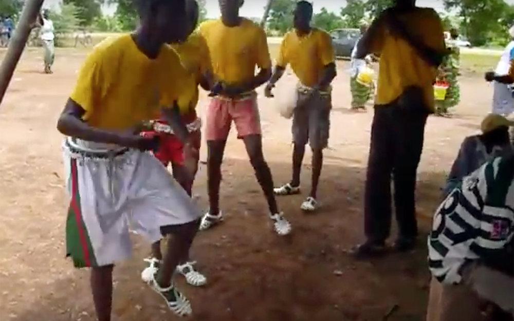 338.GORA / Burkina Faso - GORA is traditional dance from Burkina Faso.