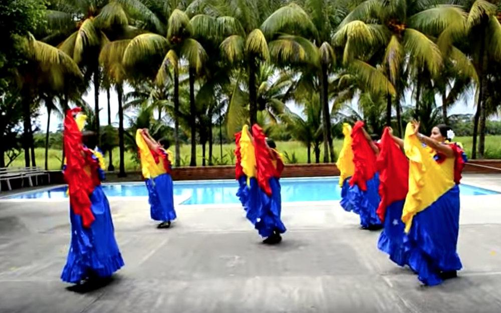 431.Joropo / Venezuela - Joropo is the most representative folk dance with Venezuelan origin. The word
