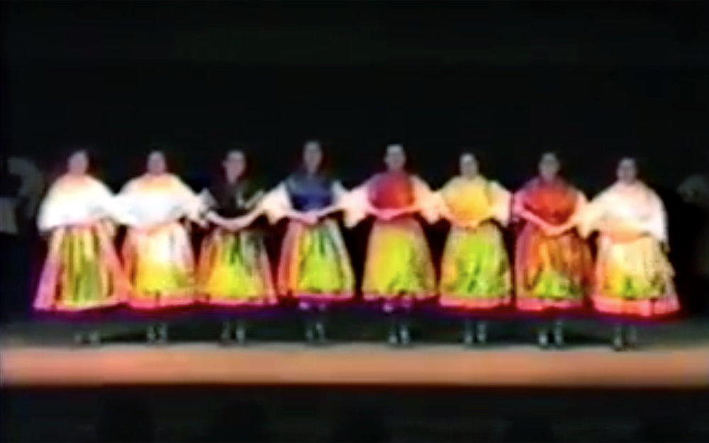 438.Karikázó / Hungary - Karikázó is a Hungarian folk dance traditionally performed by women. It is a circle dance in 4/4 time, traditionally to a cappella rather than instrumental music