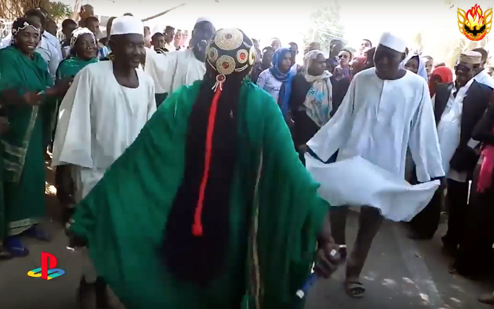 485.Kirang / Sudan - Kirang dance is one of the famous dances of Nuba Mountains in Sudan, especially for Ajang people who are living along the North line of the Nuba Mountains. The dance is easily recognisable from the stomp of the dancers feet.