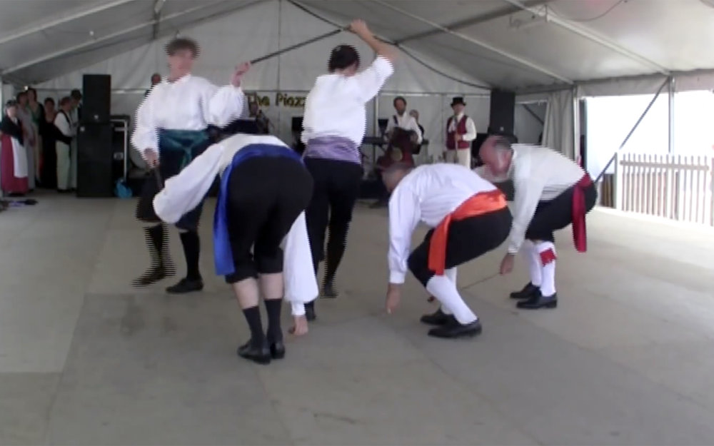 531.Longsword Dance / England - Longsword Dance is a hilt-and-point sword dance recorded mainly in Yorkshire, England. The dances are usually performed around Christmas time and are believed to derive from a rite performed to enable a fruitful harvest.