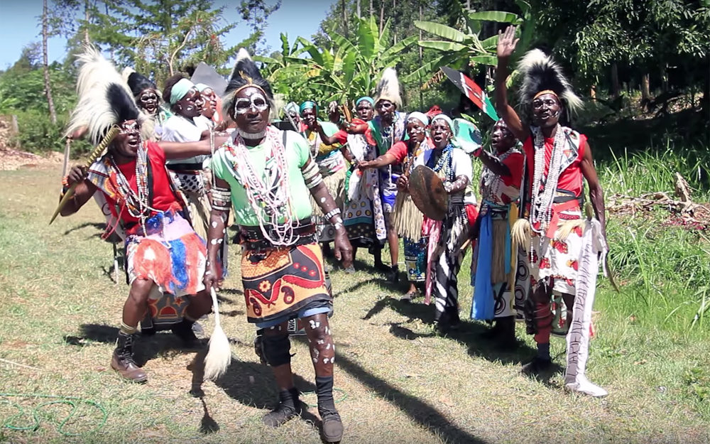 556.Mariene Dances / Kenya - Mariene Dances are traditional dances of Mariene people in Kenya.