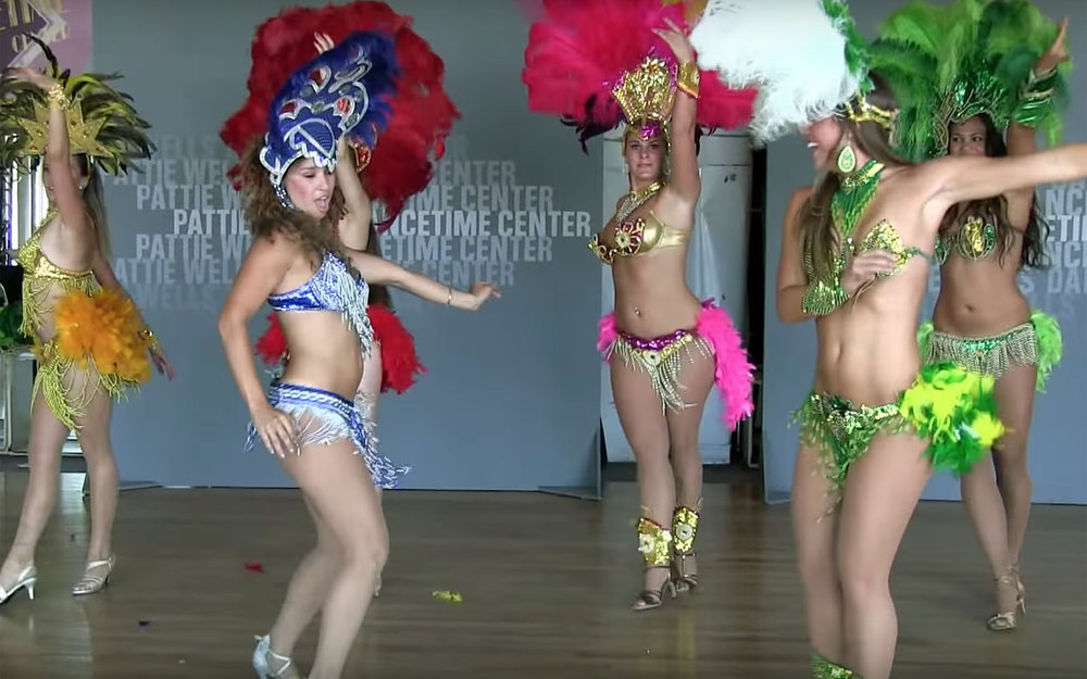 749.Samba / Brazil - Samba is a lively, rhythmical dance of Afro-Brazilian origin in 2/4 time danced to Samba music whose origins include the Maxixe. It is a dance of black/African people in Brazil who brought much of their music and dance culture into Latin America upon their arrival into many Latin American countries. Samba music is very similar to and has been influenced by many Angolan music genres. It has also been influenced by many other Latin American music genres and dances. The Samba music rhythm has been danced in Brazil since its inception in the late 16th century. There is actually a set of dances, rather than a single dance, that define the Samba dancing scene in Brazil; however, no dance can be claimed with certainty as the