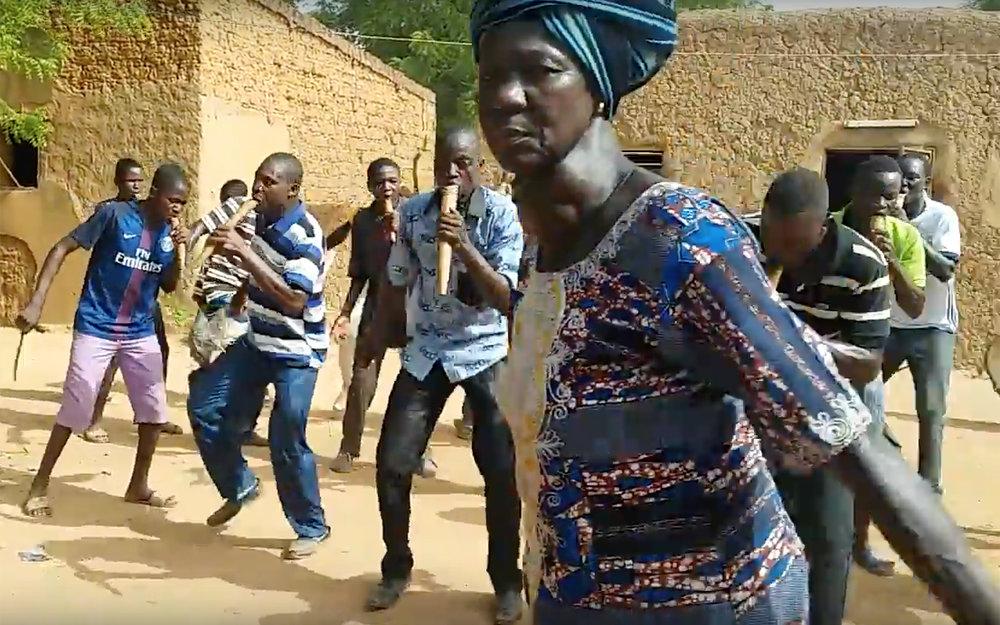 751.SAMO / Burkina Faso - SAMO is a traditional dance from Samo in Burkina Faso.