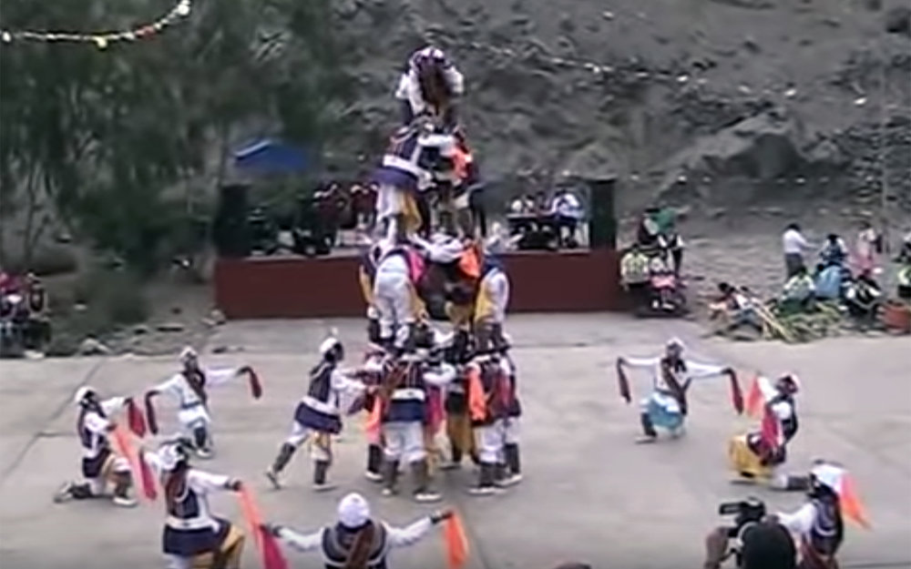 762.Schacshas / Peru - Schacshas is a dance of Ancash, performed on the occasion of religious festivals, such as the Lord of May in Huaraz, the Virgin of the Assumption in Chacas or the province of Corongo, specifically in the district of Aco. In addition, it has presence in the cones of Lima for the organisation of school competitions, or presentation in centers of shows and celebrations