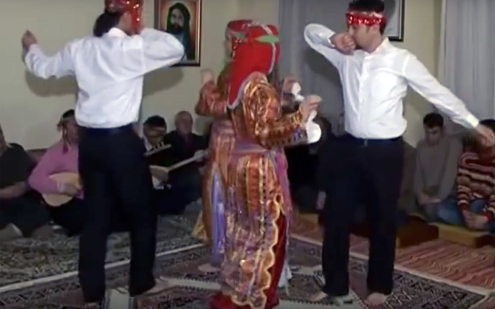 """769.Semah / Turkey - Semah is a religious ritual folk dance performed by Alevi and Bektaşi communities. Performed by turning and whirling with divine love, the dance is called """"turning semah."""""""