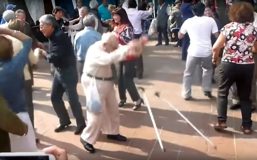 772.SENIOR DANCE / Global - SENIOR DANCE is a dance performed by seniors, older people dancing various dance styles, performing mostly typical dances for the region they come from.