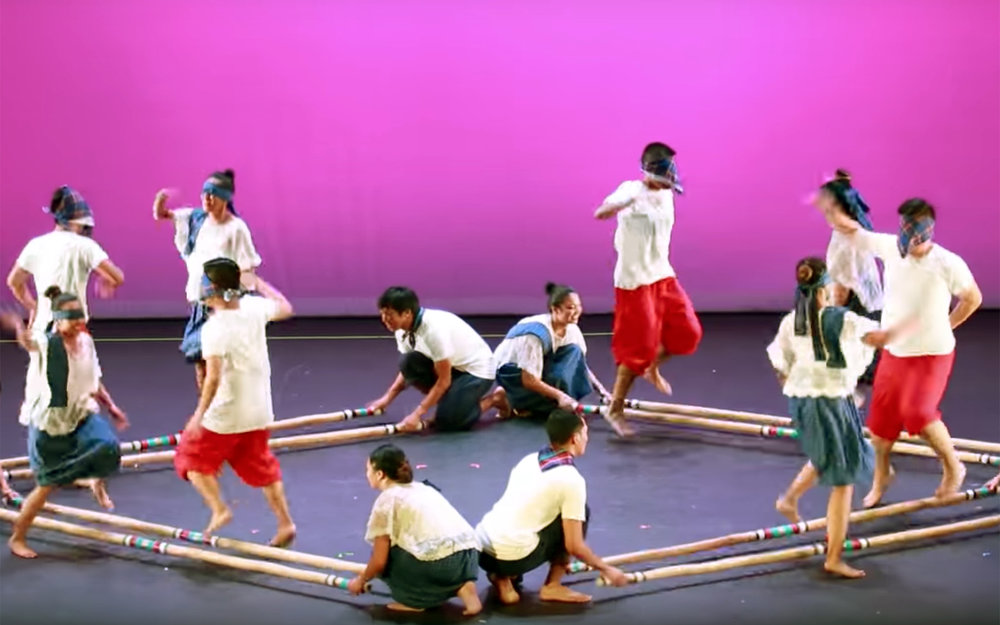 808.Stick Dance / Global - Stick Dance was a dance style that African-Americans developed on American plantations during the slavery era, where dancing was used to practice