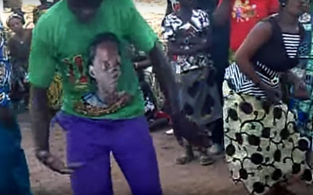 773.SENOUFO / Burkina Faso - SENOUFO is a dance from Senoufo people from South West of Burkina Faso