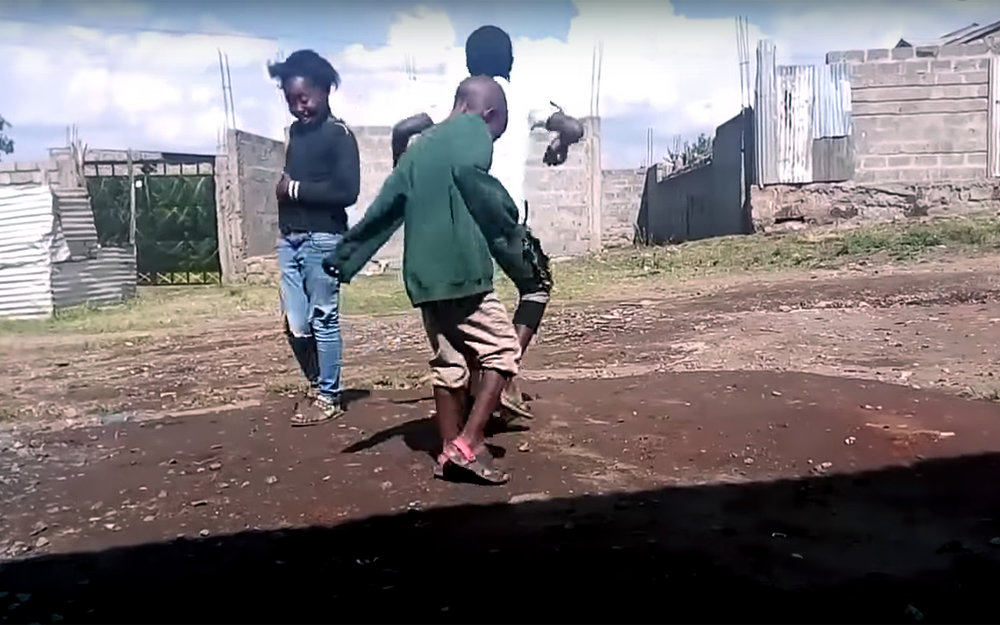 653.Odi Dance Challenge / Kenya - Odi Dance Challenge is a dance track created by a Kenyan gospel dance group from Kibera. It is a celebration of how Christian dance has infiltrated the Kenyan society. This dance challenge became very popular and new videos with Odi dance started to pop up on Internet.