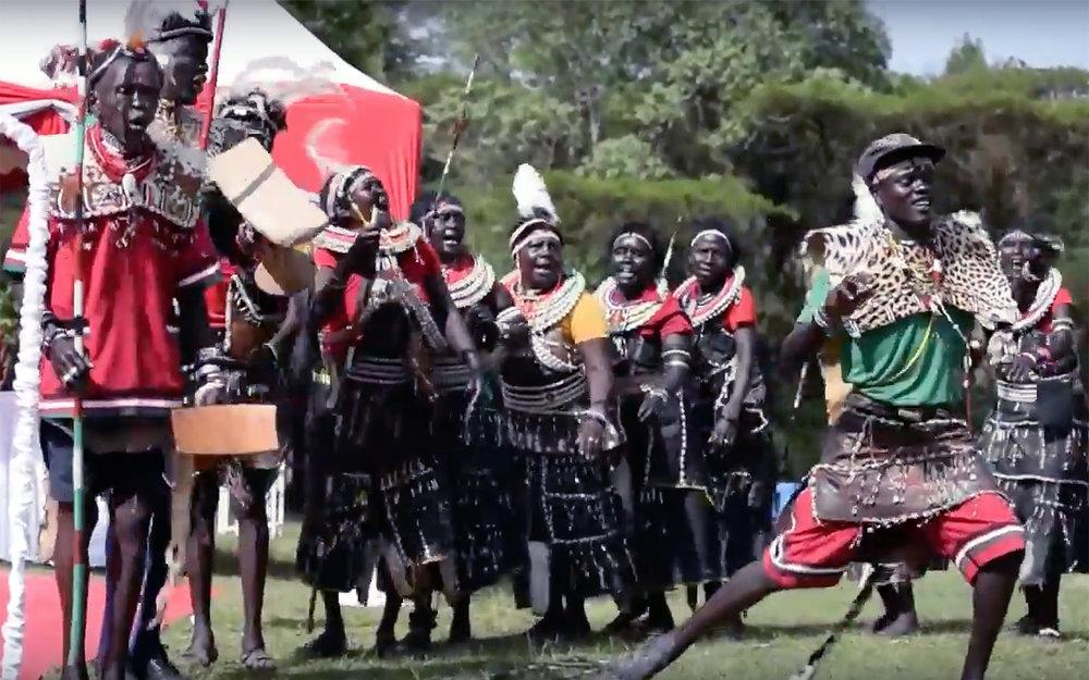 692.Pokot / Kenya / Uganda - Pokot is a traditional dance from Uganda and Kenya.