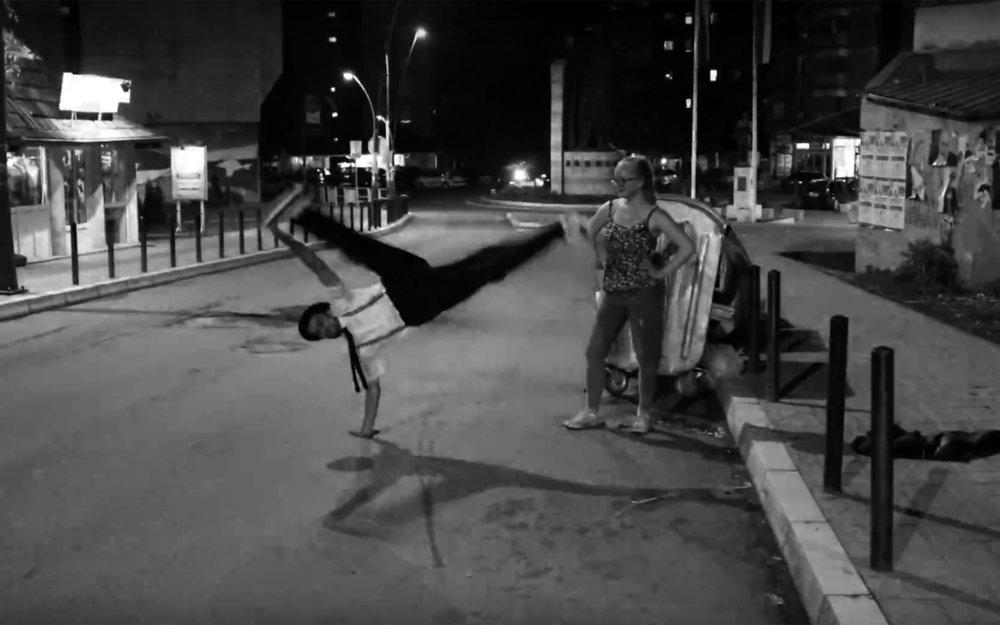 trash dance / Global - Trash Dance is dancing around or on top of trash-bins.