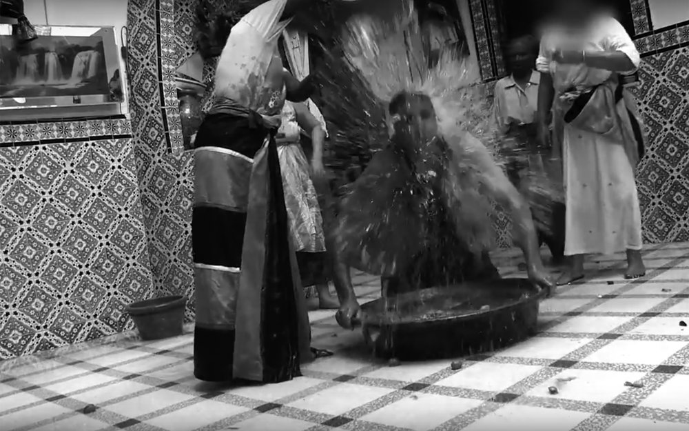 Stambali / Tunisia - StambalI is a traditional religious trance ceremony coming from Tunisia, as well as healing and demon exorcism ritual. It is a ritual music and a cult of possession that draw origins of the African presence slaves and descendants of black slaves which mingled local beliefs related to the cults of the saints in popular Islam (wali).