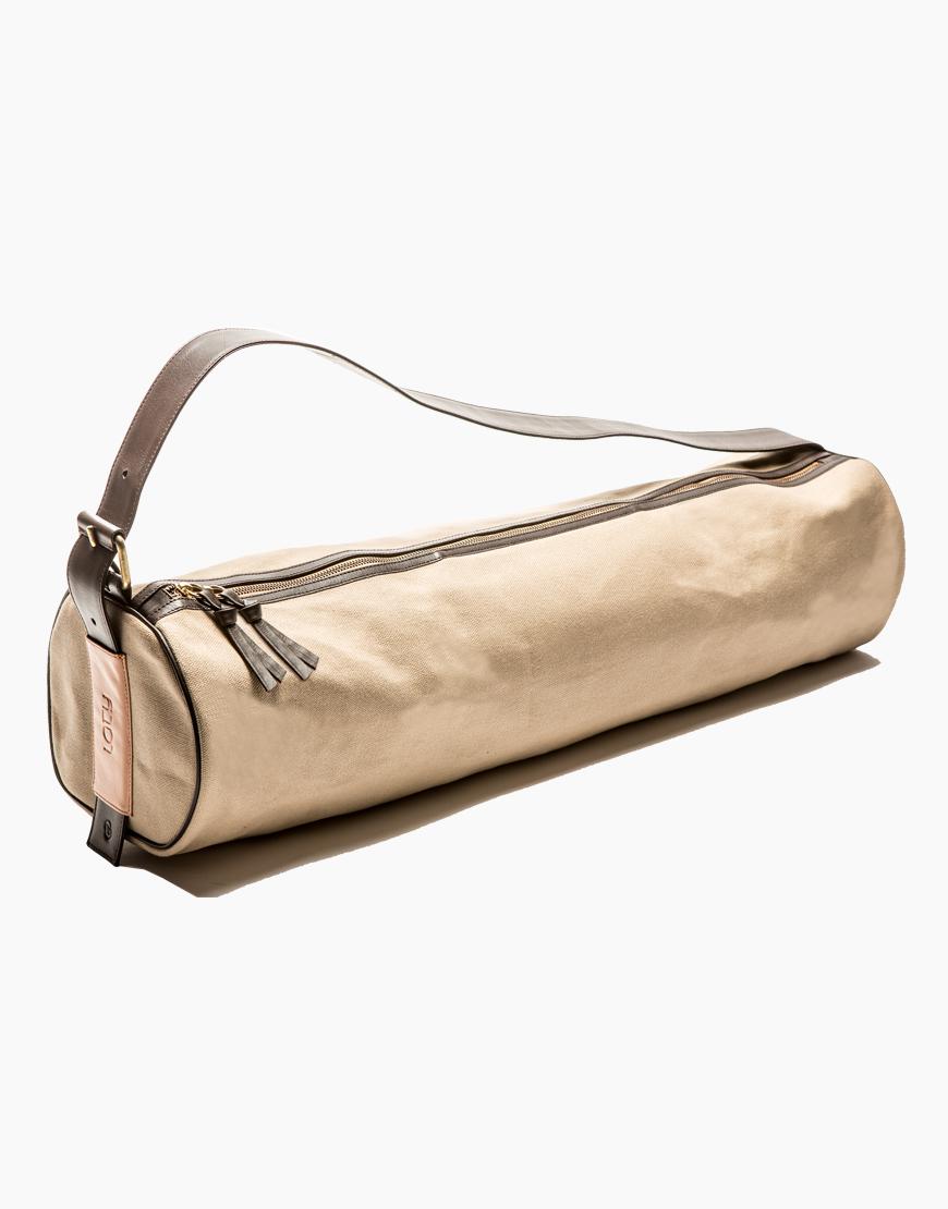 Un sac pour tapis de yoga en coton par  LATY