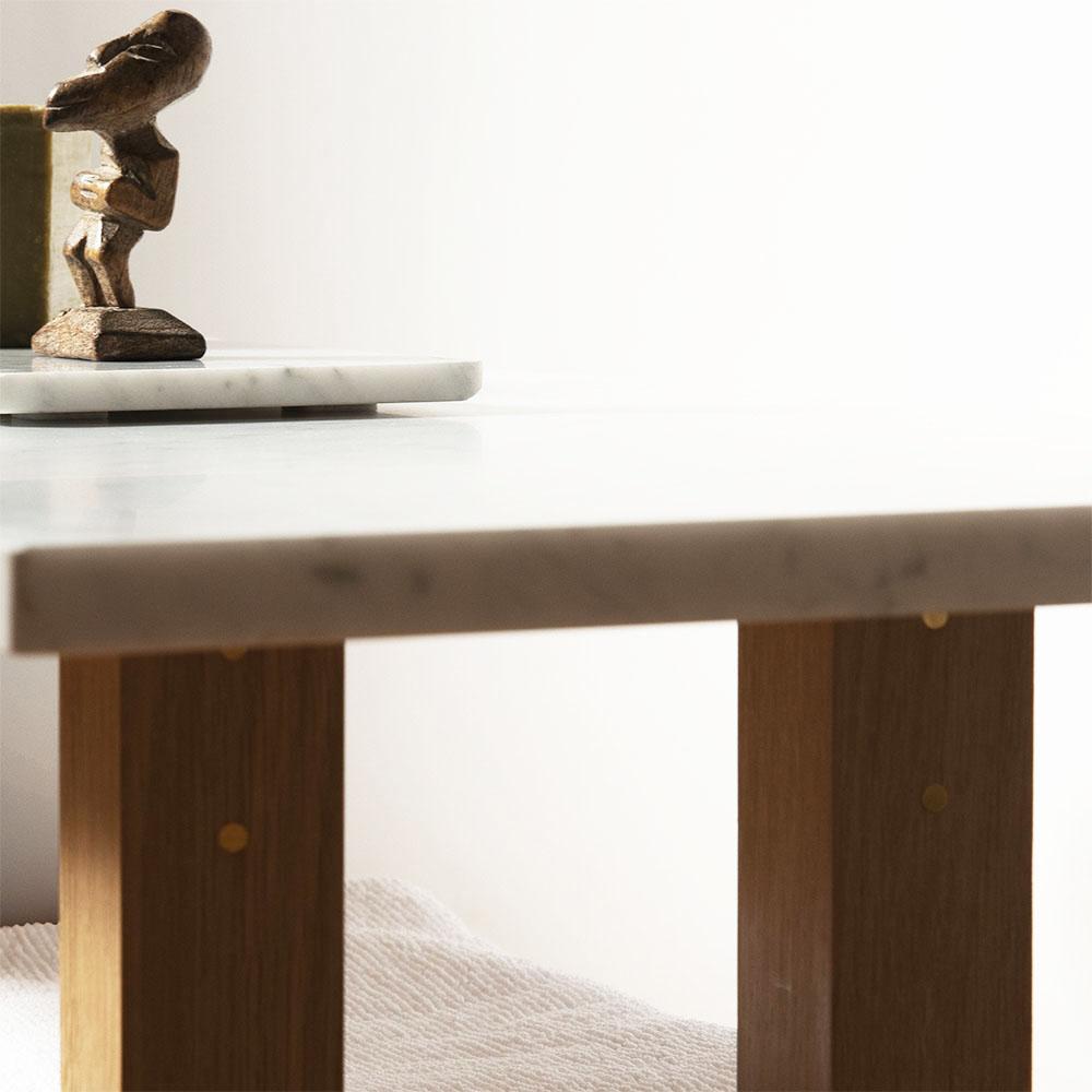 Plateforme Petit banc marbre détail 04