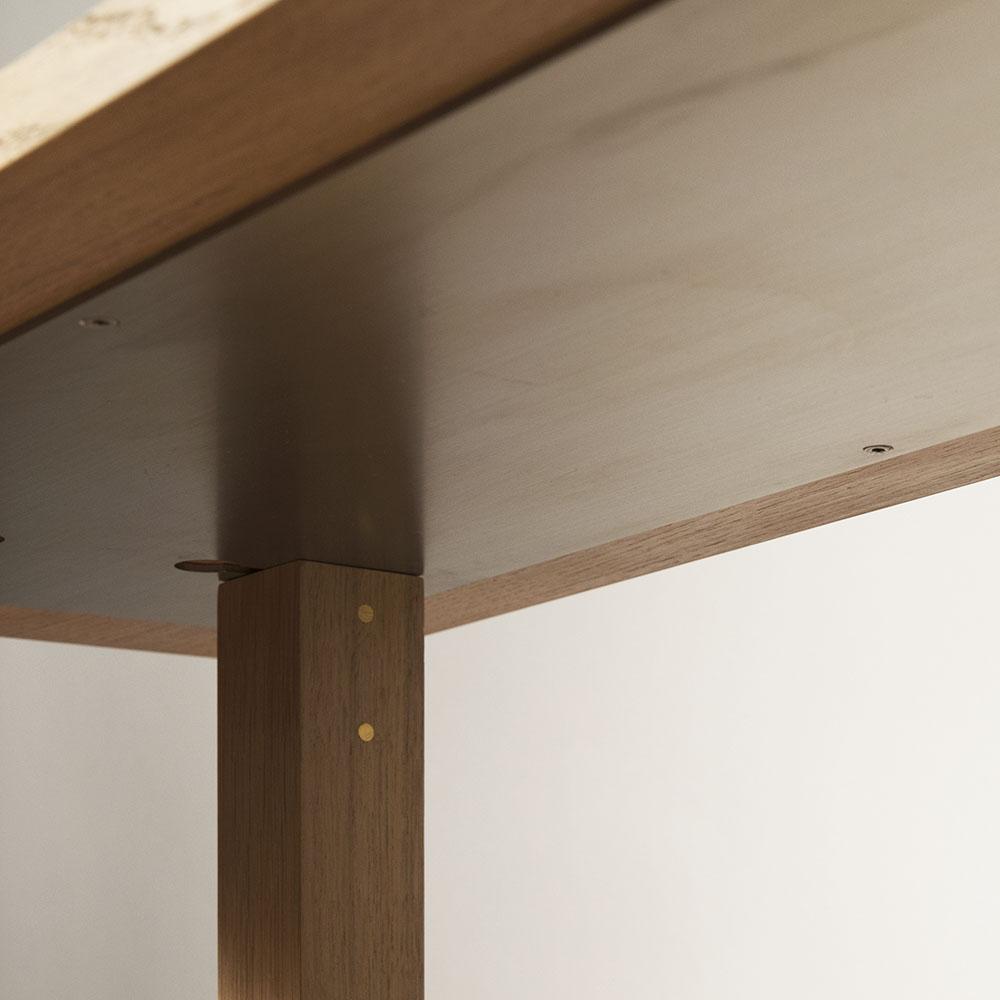 Plateforme Console marbre detail 03