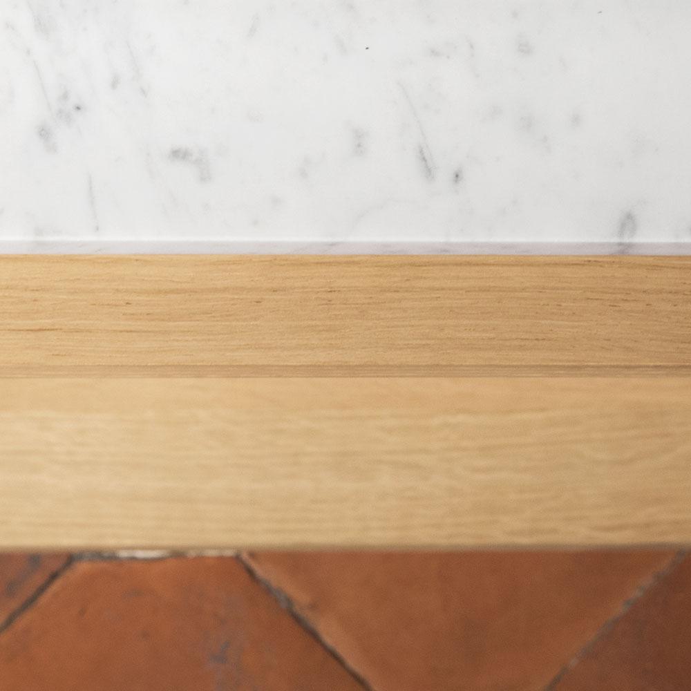 Plateforme Console marbre detail 02