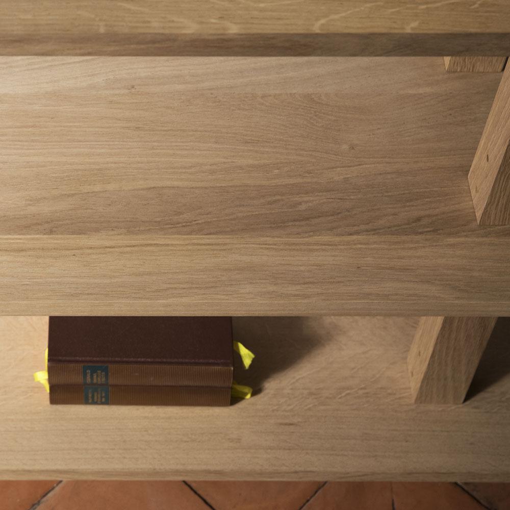 Plateforme Console bois detail 03