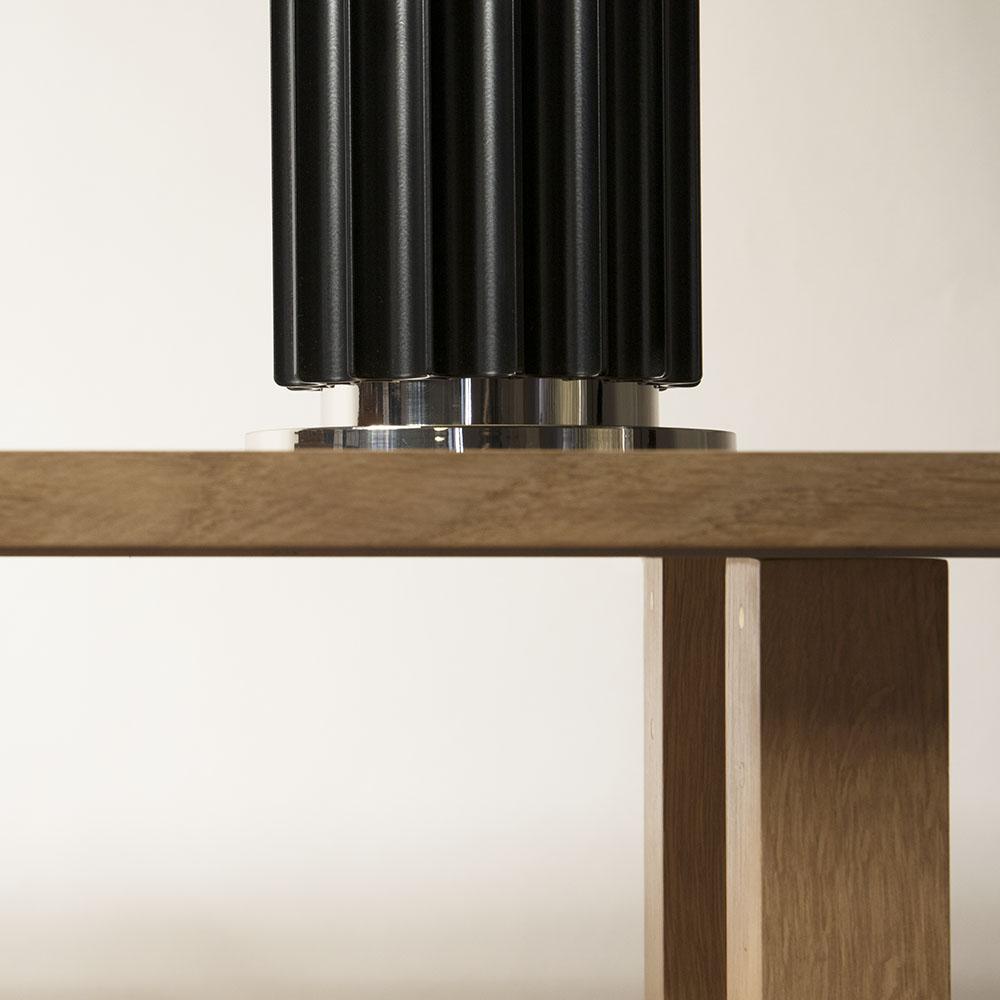 Plateforme Console bois detail 02