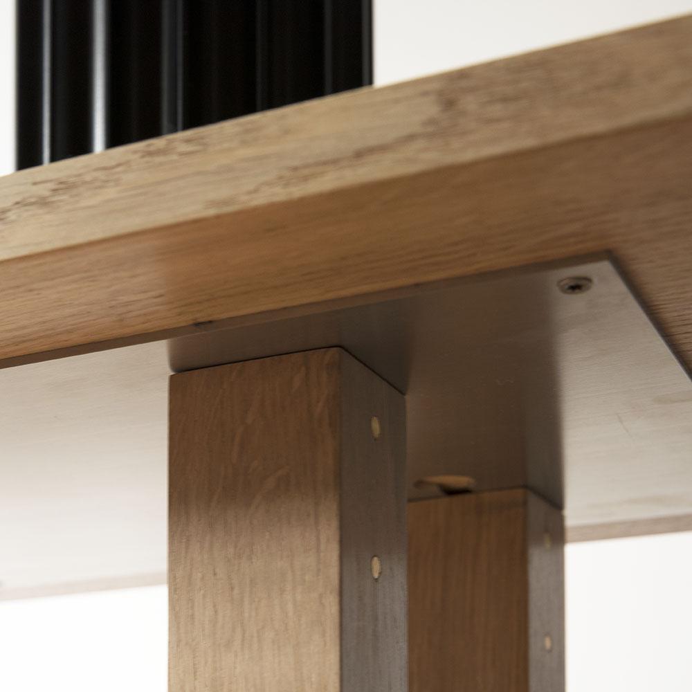 Plateforme Console bois detail 04