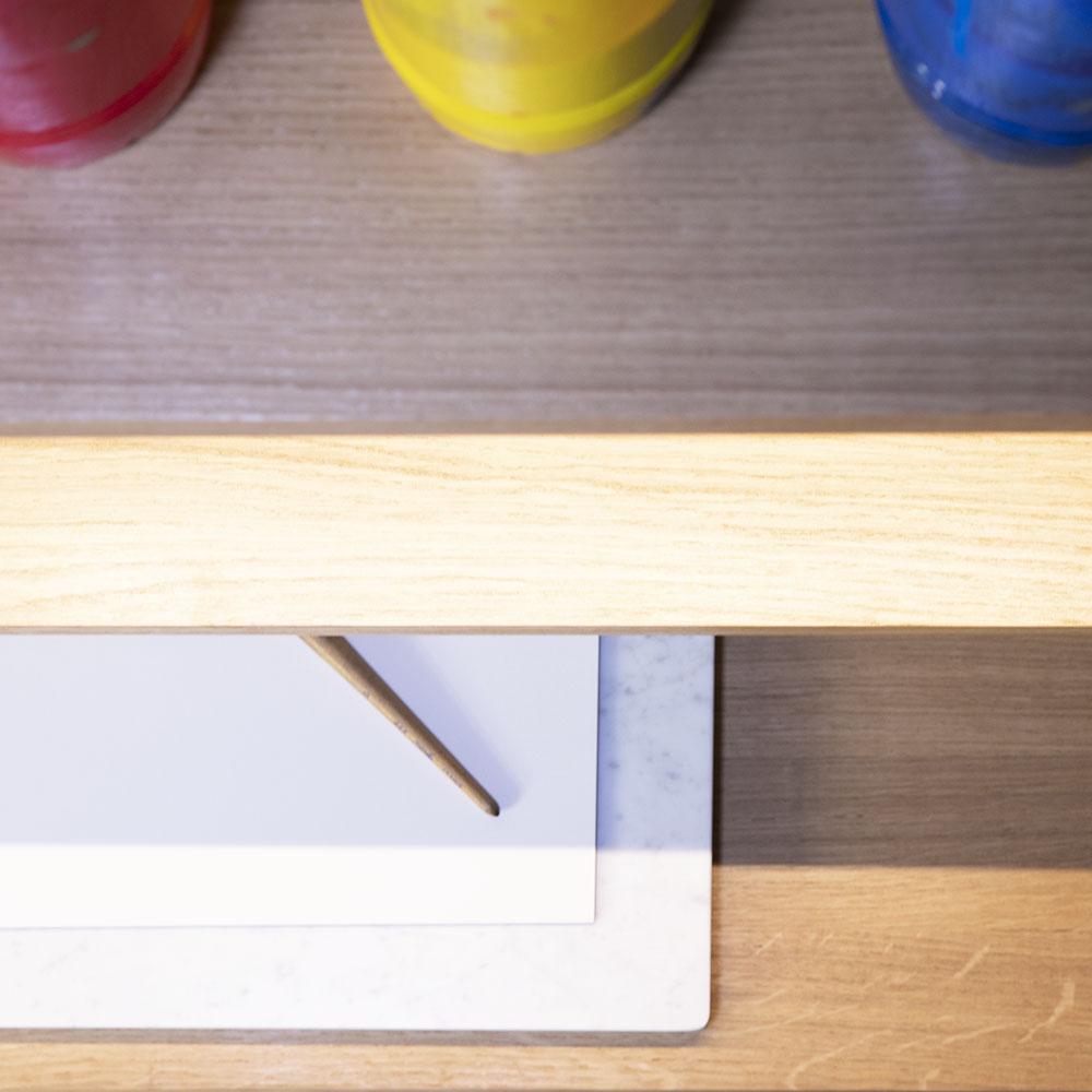 Meuble de rangement Plateforme pour la chambre ou le bureau détail 03