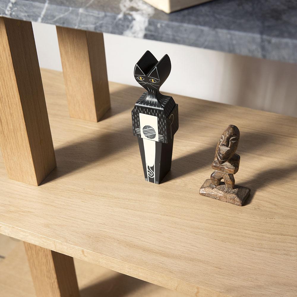 Console avec top en marbre gris détail 02