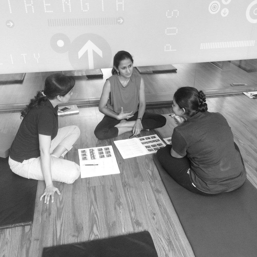 prenatal teacher training course Anjali Sareen master trainer