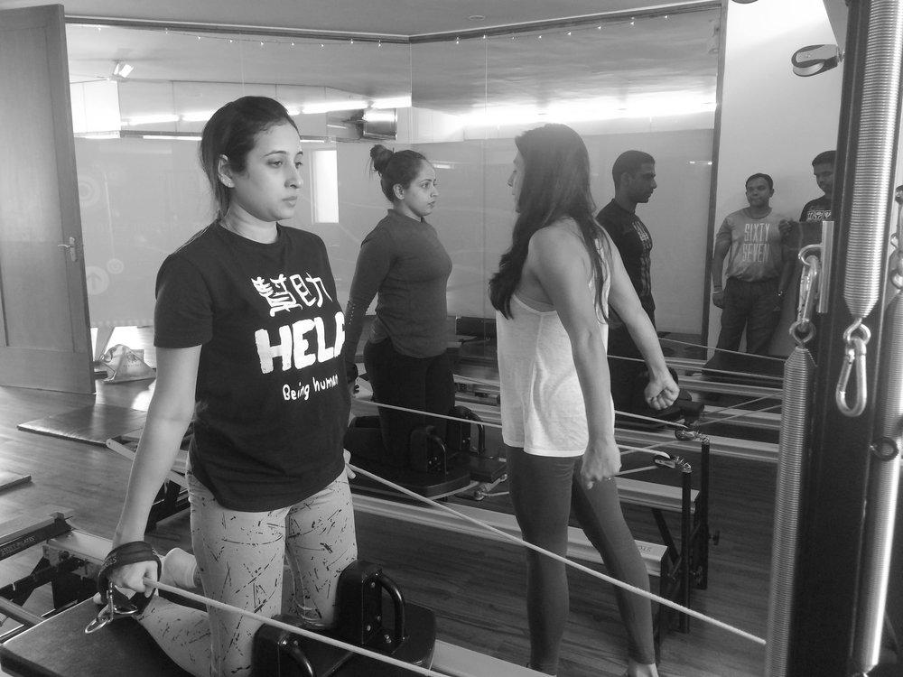 fitness course reformer teacher training Anjali Sareen