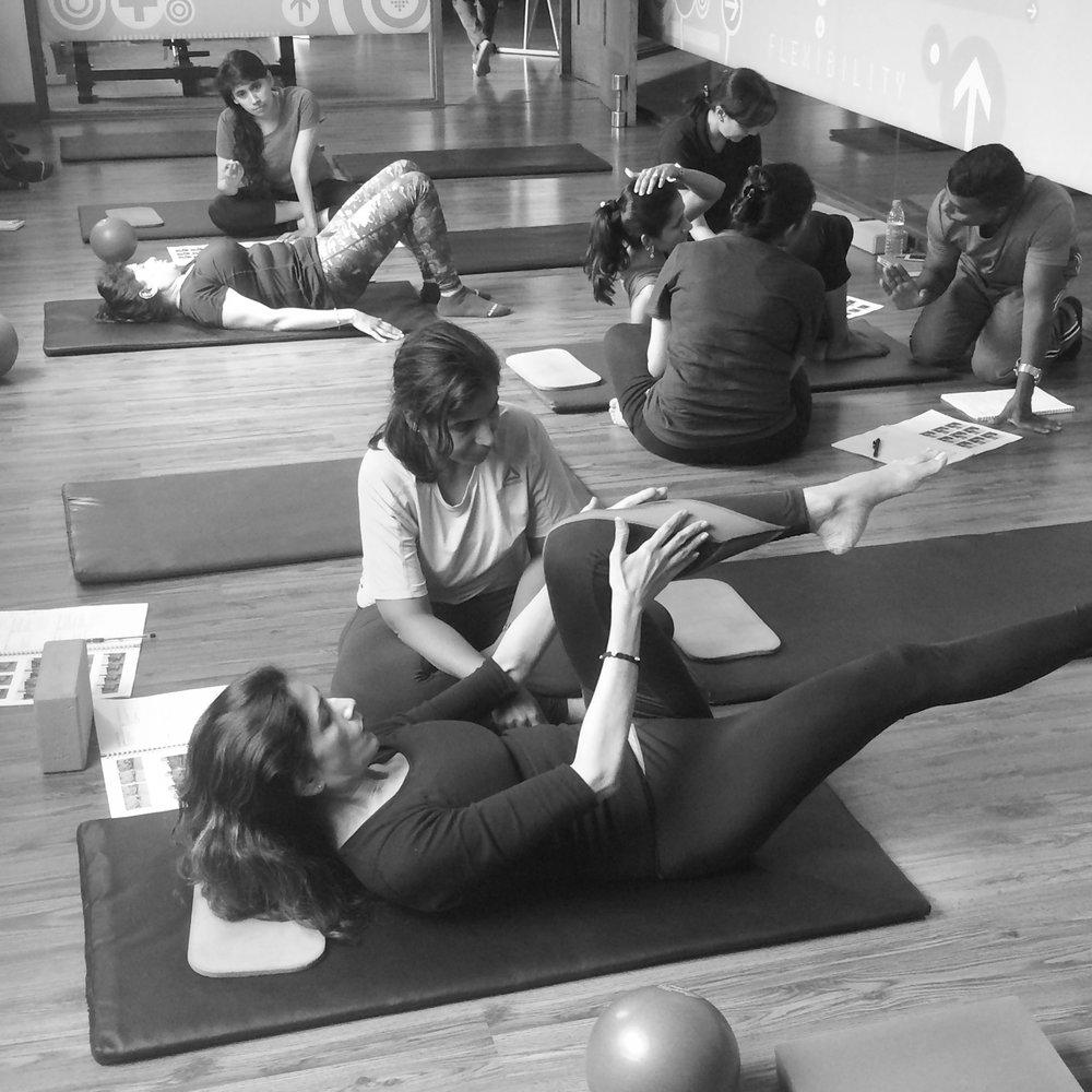 Mat Pilates Teacher Training Bangalore The Zone Studio Anjali Sareen
