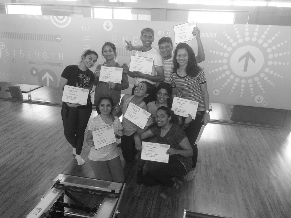 yoga physios pilates teacher training course Anjali Sareen