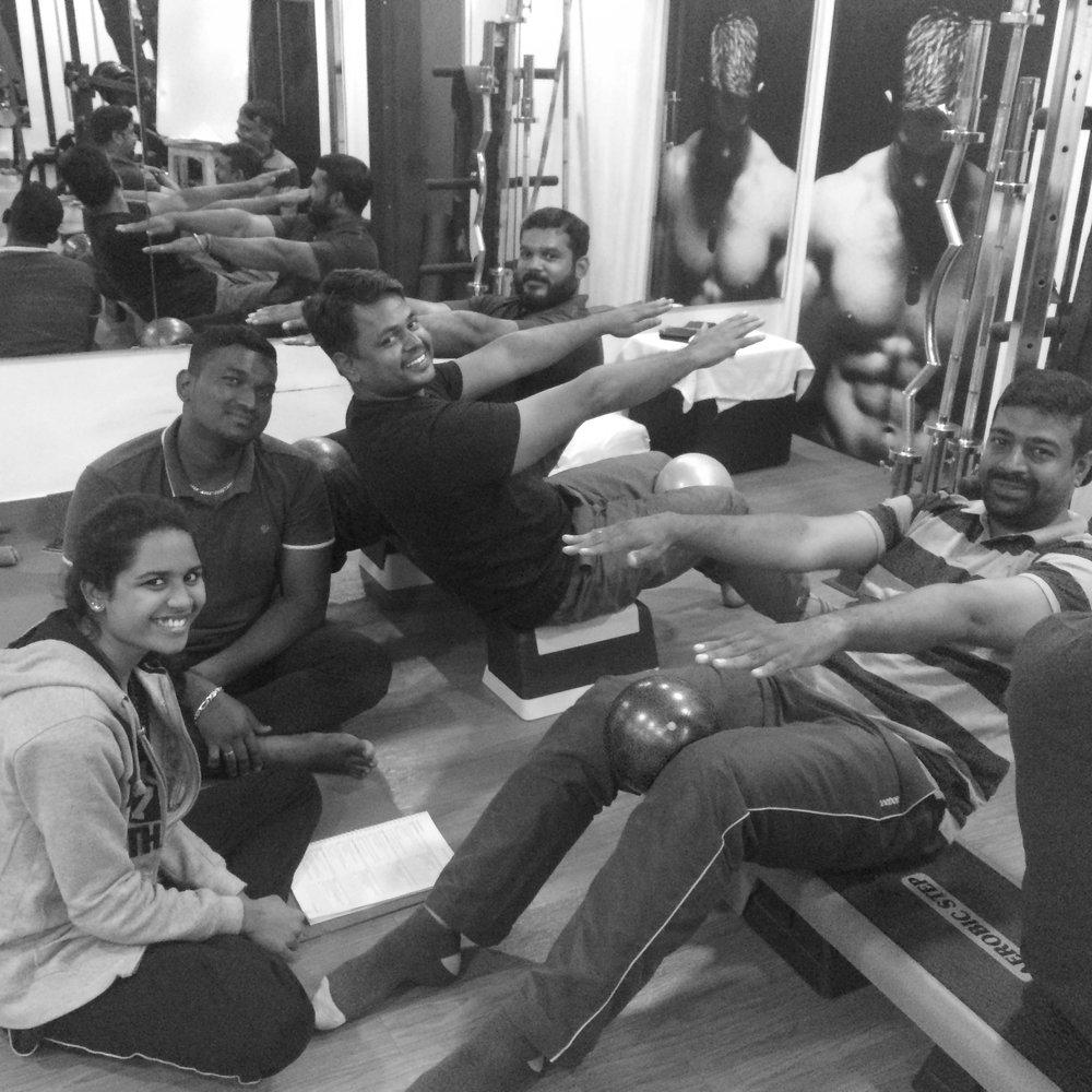 Physios Pilates teacher training rehab Anjali Sareen