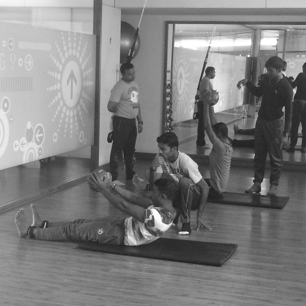athletic fitness course teacher training Zone Studio Bangalore Anjali Sareen fitness education
