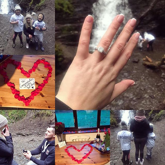 🍾🥂 A huge congratulations to a lovely couple who got engaged during their stay 🥂🍾 Wishing you all the happiness & look forward to seeing you again 💖💍 #cwmchweffrucottages #builthwells #wales #engaged #celebration #engagement #holiday #holidaycottage #love #family #cute