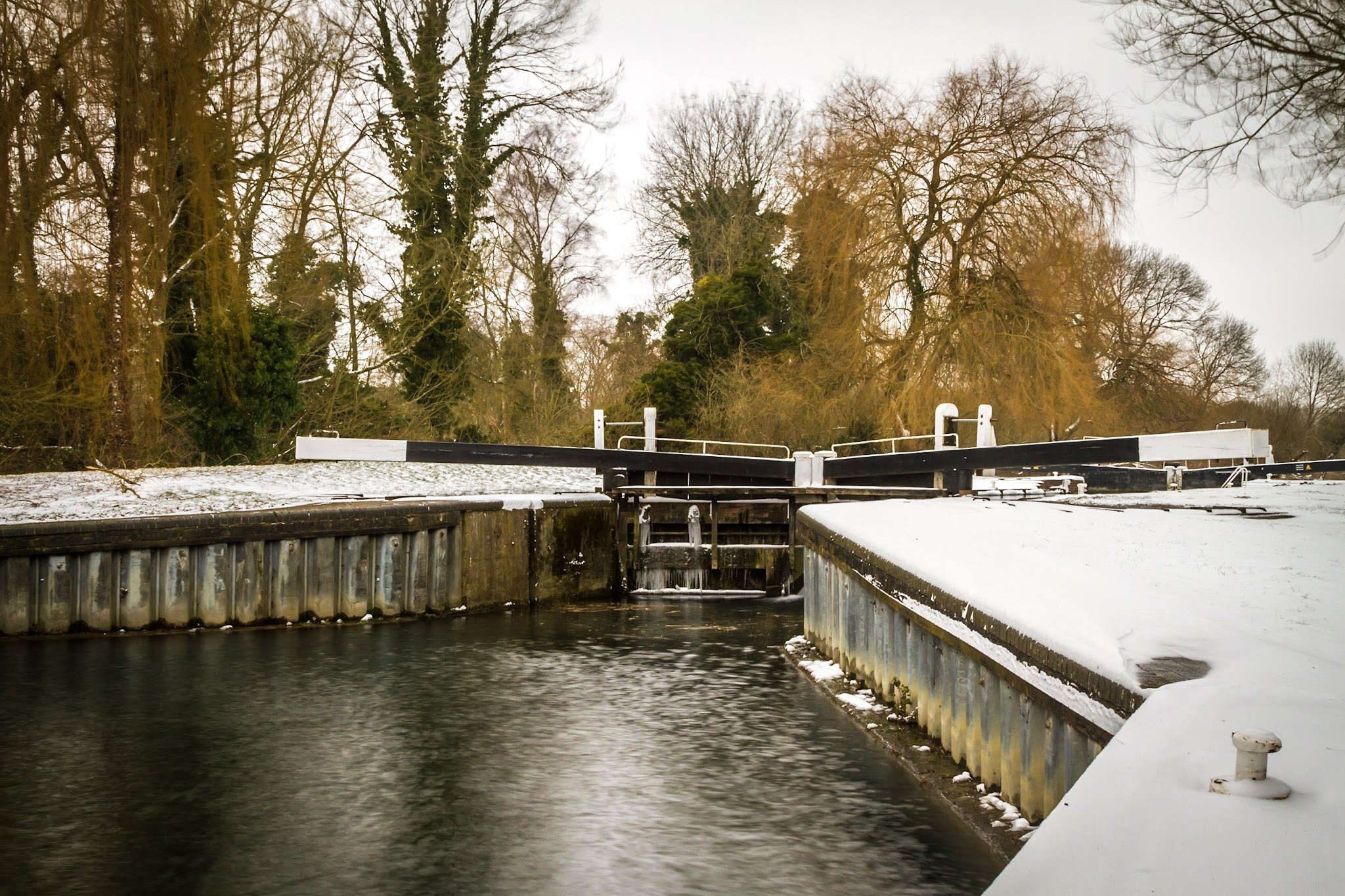 Kennet and Avon Canal lock number 89