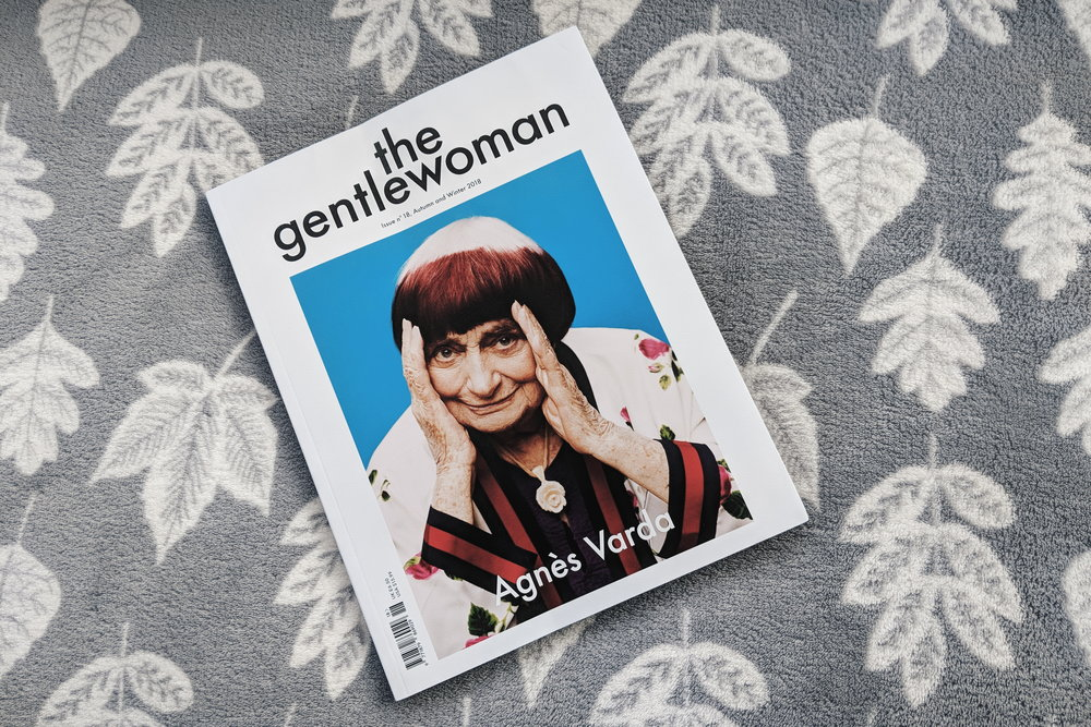 Excited to read the latest issue of The Gentlewoman. Pictured here on my favourite autumn blanket.