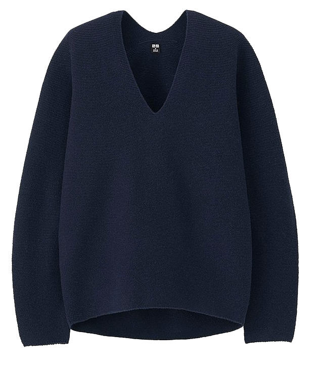 Time to dig the knitwear out from the bottom drawer! I love these  3D knit lambswool sweaters from Uniqlo .
