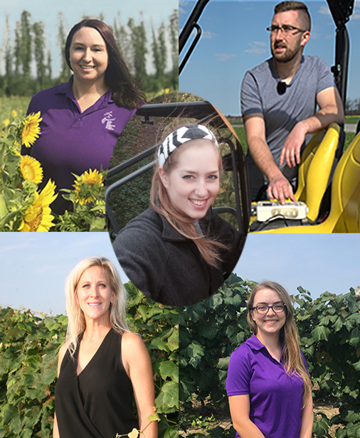Differential Vineyard Management - Jackie Dresser, Scott Ebert, Rhiann Eckstrom, Jennifer Russo, Teagan Zingg