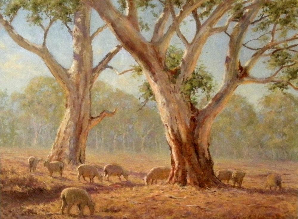 Western Pastoral by Bill Odd