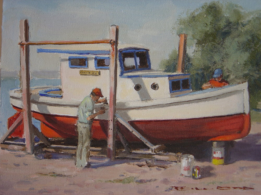 The Slipway by Bill Odd
