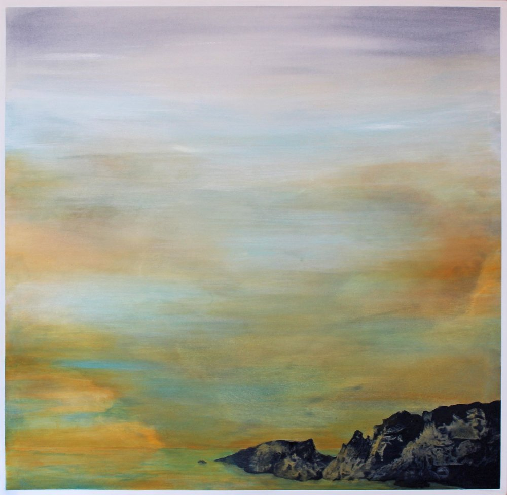 7. GALLAGHER_Martin_Clouds at Sunrise_Acrylic on Canvas_91cmx91cm.jpg