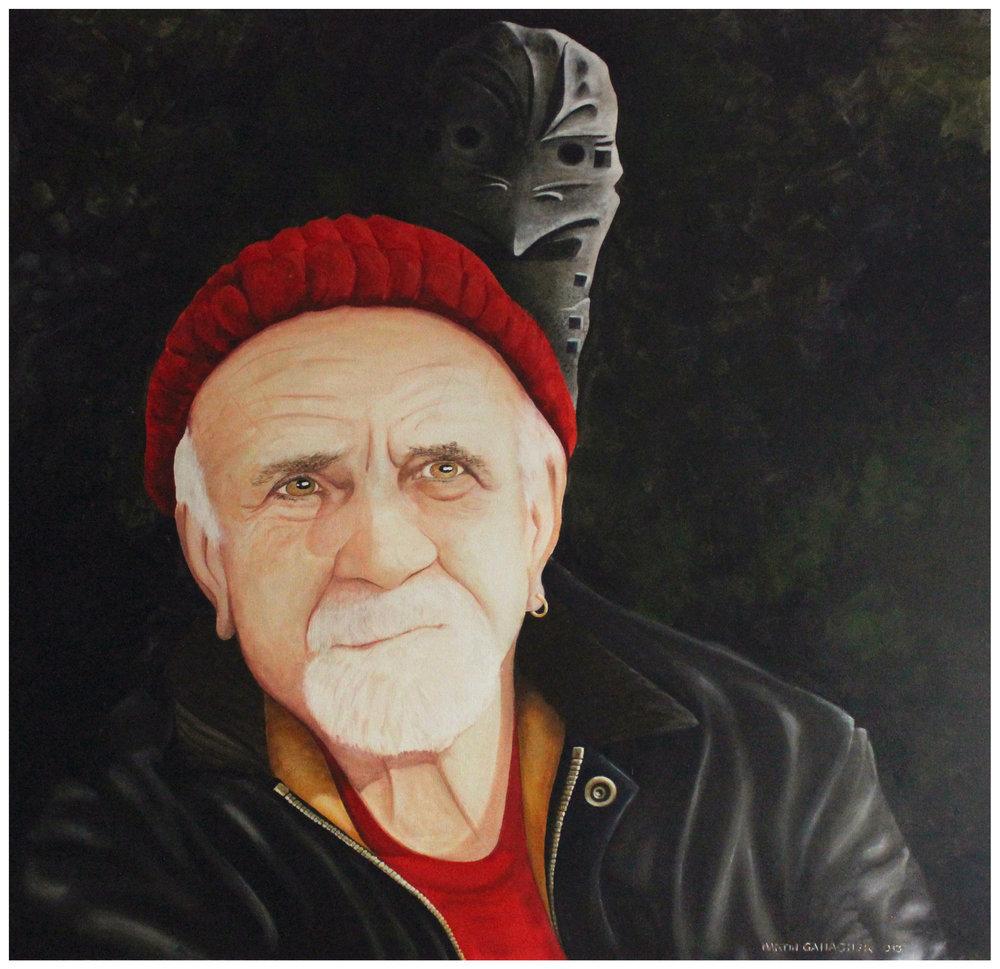 9B GALLAGHER_Martin_Portrait - Bob Brace_122cmx122cm.jpg