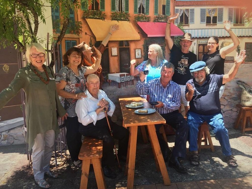 Italian Streetscape @ the Farley Piazza - Celebrating the history and culture of the region's Italian community, the mural was made possible by a $6500 grant via SDRC's Regional Arts Development Fund. Brought to life by artists Julie Brown, Dean Ford and Laurie Astill.