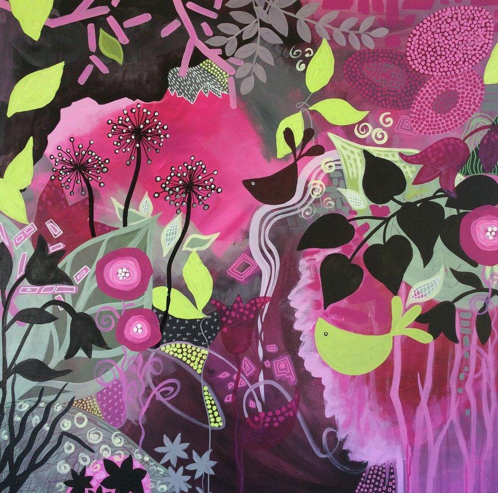 Floral Fantasy by Diane McDonald