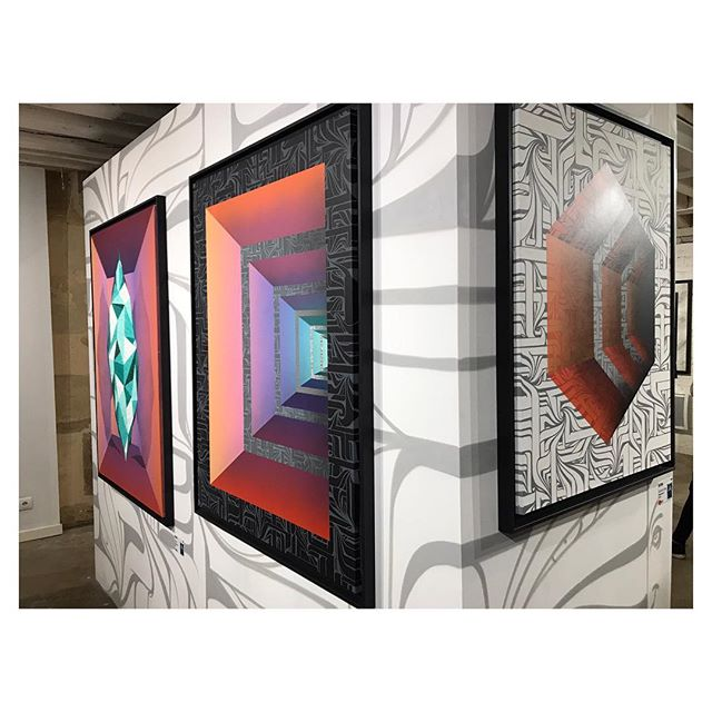 Exposition d'Astro «Levitation» à découvrir jusqu'au 16/12/18 au Loft du 34 - Ouvert du Jeudi au Lundi de 14h à 19h | 34 rue du Dragon . . . #loftdu34#astro#levitation#streetart#urbanart#graffiti#art#artparis#expo#exhibition#culture#paris#paris6#artgallery#painting#sculpture