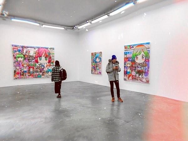 Art tips | Paris: Colorfull exhibition of @misteryanen at @galerieperrotin 🌈⭐️🎨 . . . #gaspare#expos#exhibition#paris#parisianplace#art#contemporaryart#kawaii#japan#manga#perrotin#galerieperrotin#artist#artparis #exposition #france #anime