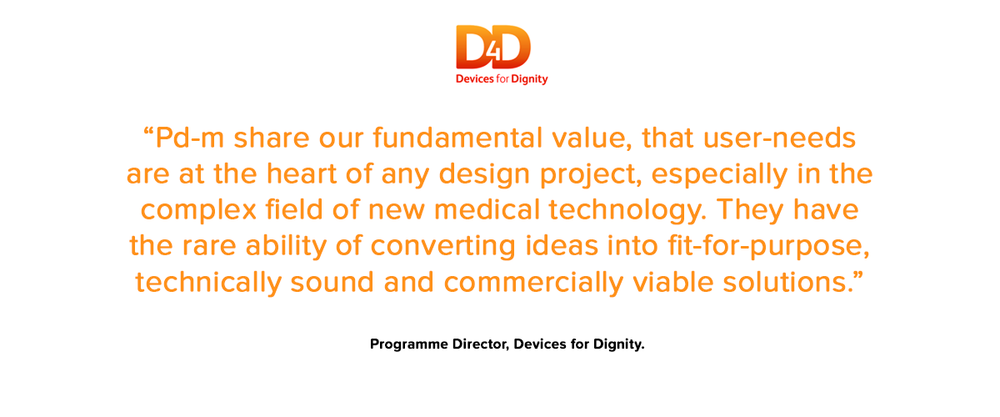 Devices for Dignity testimonial