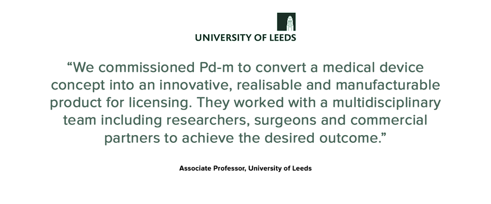 University of Leeds testimonial