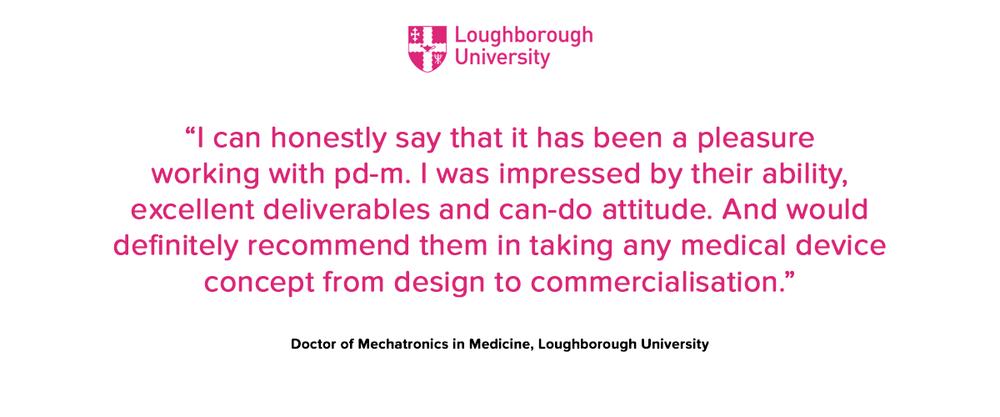 Loughborough University testimonial
