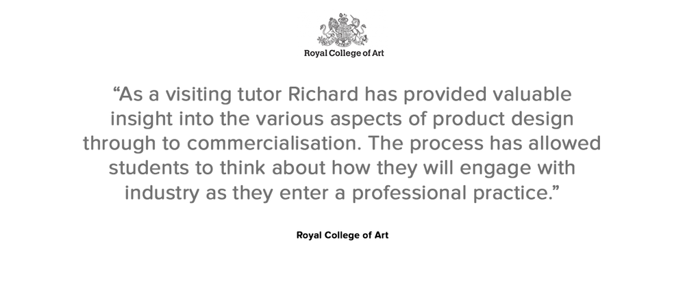 Royal College of Art testimoinal